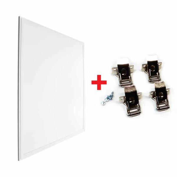 LED panel s klipy