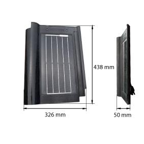 solární panel střešní taška