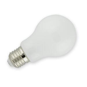 LED žárovka E27 mléčná